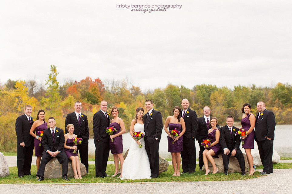 full bridal party