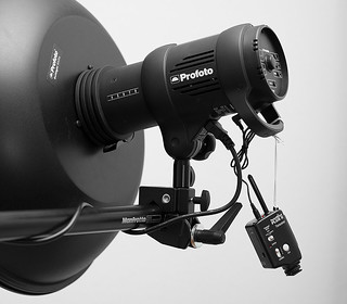 Profoto D1 with PocketWizard