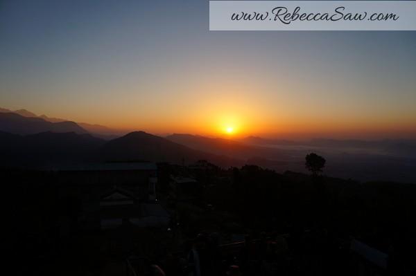 Sarangkot Nepal - sunrise pictures - rebeccasawblog-015