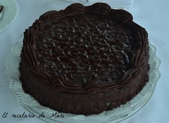 TARTA DE CHOCOLATE (paso a paso)