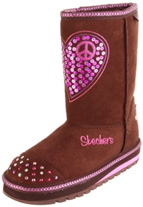 Skechers Twinkle Toes S Lights Keepsakes Lighted Boot for Toddler and Little Kid