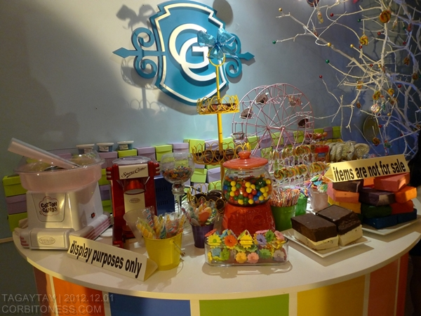 Candy display in Candyland Nuvali