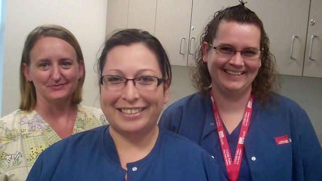 Donna Richardson—MA, Mary Martinez—Nurse Clinician III, and Kimberley Zupan—Nurse Clinical III will all be working at Bay Colony Pediatrics.