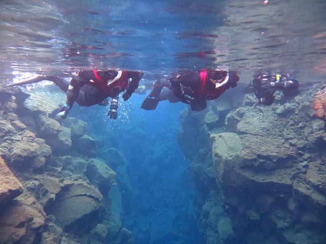 snorkelling silfra rift iceland thingvellir national park