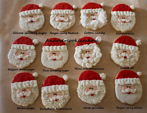Which santa beard is your favorite? by Andovercookiemama