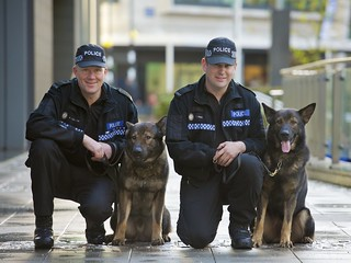 Day 341 - West Midlands Police - Dog handlers receive awards