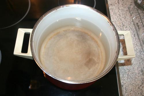 17 - Wasser aufsetzen / Bring water to boil