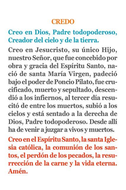 el credo catolico related keywords   el credo catolico
