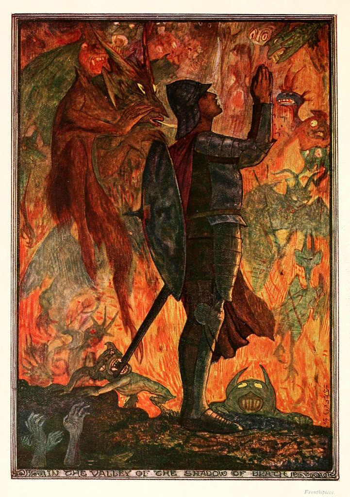 Henry Justice Ford - The pilgrim's progress by John Bunyan ; an edition for children arranged by Jean Marian Matthew, 1922 (color plate 1)