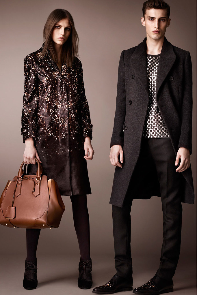 Charlie France0287_Burberry Prorsum's Pre-Fall 2013 Collection(Homme Model)