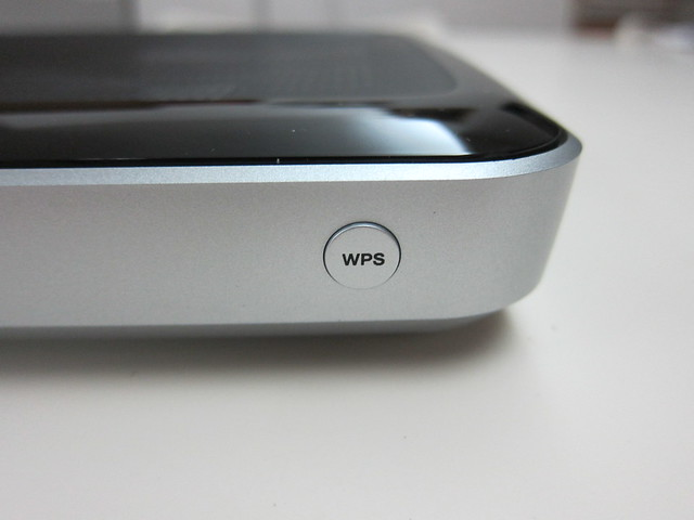 WD My Net N900 Router - WPS Button