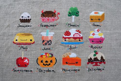 Desserts Stitch-along by jenniferworthen