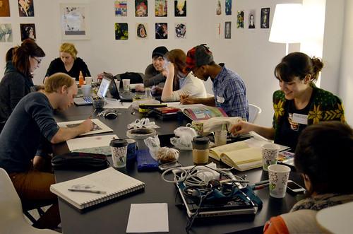 December Light Grey Art Lab Lock-In