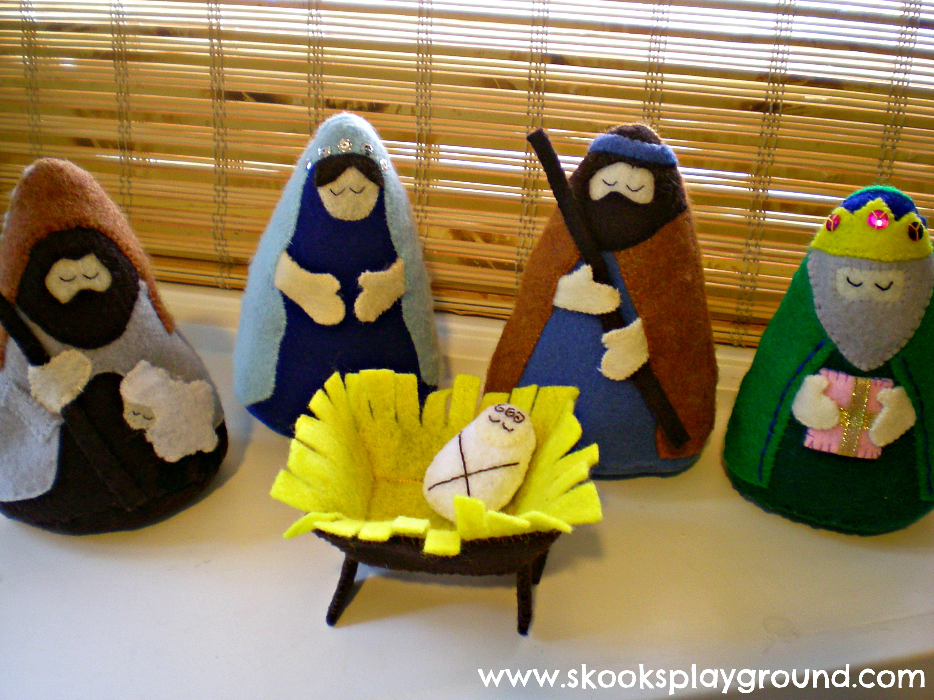 Felt Nativity Take 5