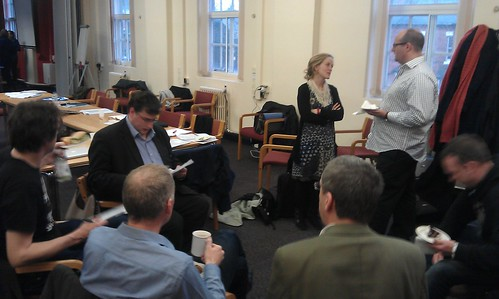 'Defining hyperlocal' breakout at December research meeting
