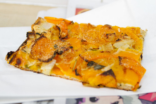 Pumpkin pizza