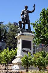 Alès, La statut de Pasteur.
