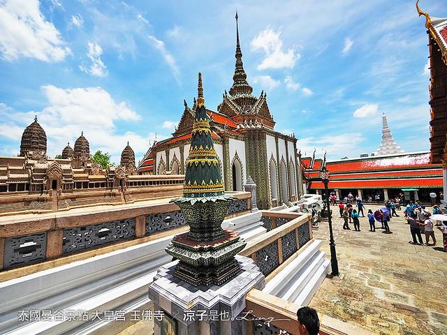 泰國曼谷景點 大皇宮 玉佛寺  51