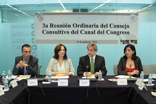 Comisión Bicamaral del Canal del Congreso - Reunión de Trabajo con el Consejo Consultivo
