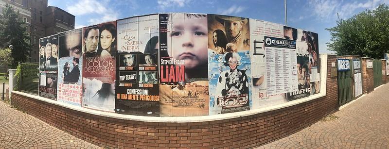 Cinéma de plein air - Pavia