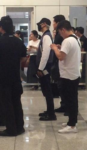 BIGBANG GDTOPDAE arrival Hangzhou 2015-08-25 114
