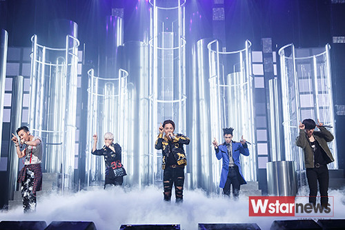 Big Bang - Mnet M!Countdown - 07may2015 - Wstar News - 02