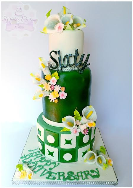 Cake by Sabrina White of White's Custom Cakes