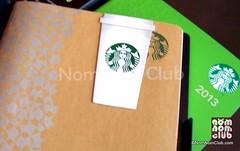 Starbucks Planner 2013 Philippines