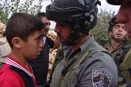 Soldiers and Border Police v.s. Children
