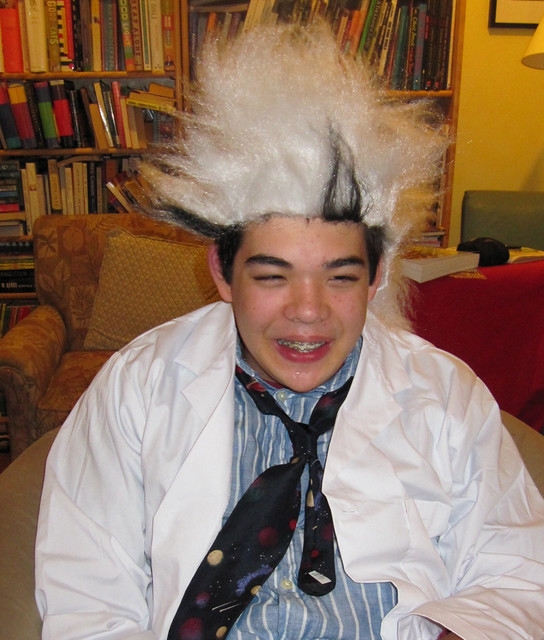 Jon as mad scientist