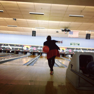 not so great at bowling.