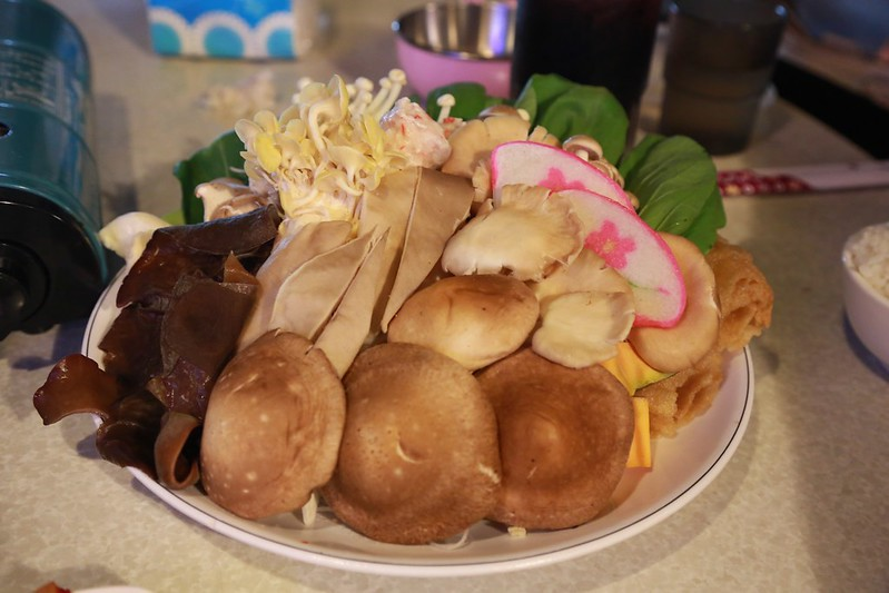 香菇養生鍋的材料