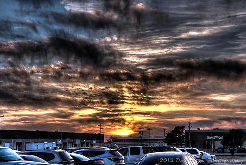 sunset sky oklahoma colors weather clouds gimp hdr photomatix hdrextreme