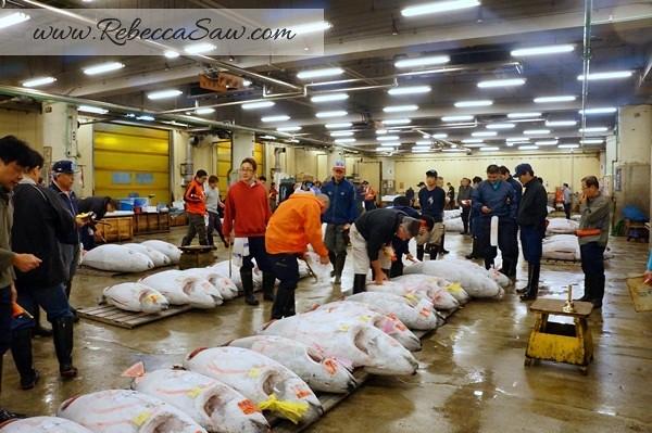 Tsukiji Market Tuna Auction - Tokyo Japan-049