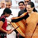 Sonia Gandhi at NIFT, Raebareli Convocation function 04