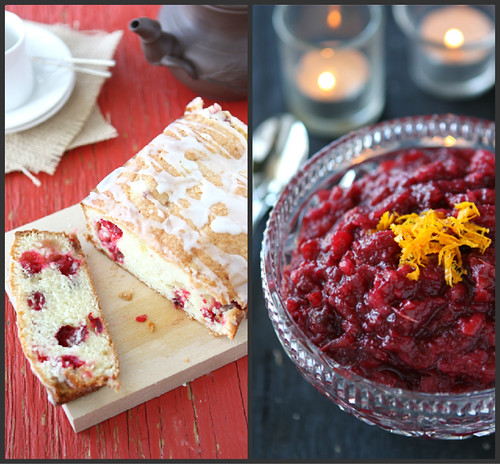 Cranberry Recipe Collage