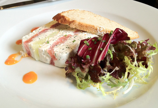 goats cheese beetroot terrine