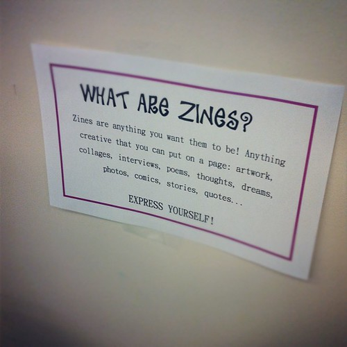 What are zines?