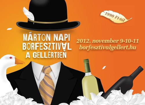 Márton Nap 2012 - Márton Napi Borfesztivál a Gellértben