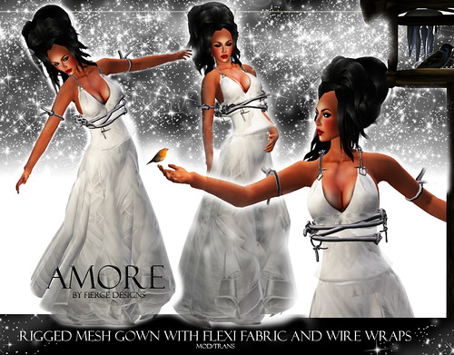 Amore in white by Fierce Designs