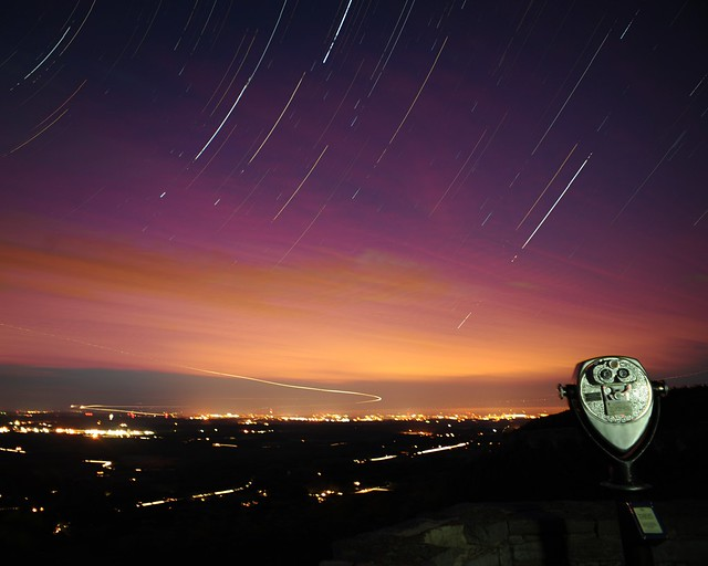 Star Trails of Thacher Park