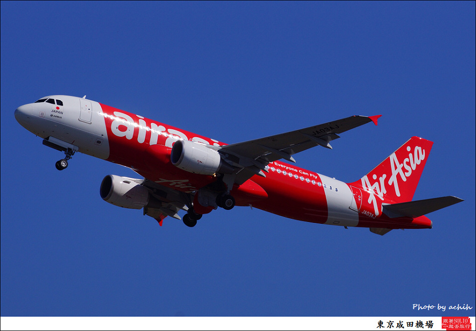 AirAsia Japan / JA03AJ / Tokyo - Narita International