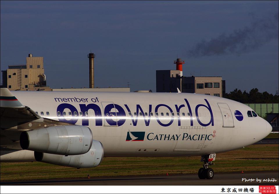 Cathay Pacific Airways / B-HXG / Tokyo - Narita International