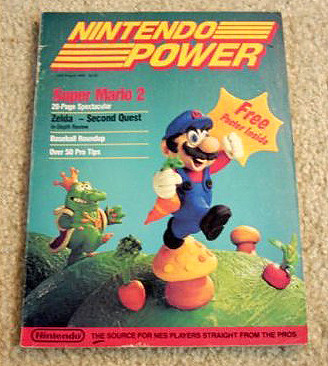 The First Issue Of Nintendo Power Magazine
