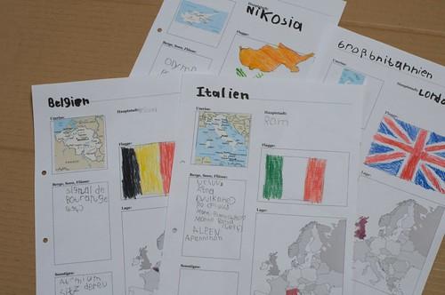 Notizen Länder Europas