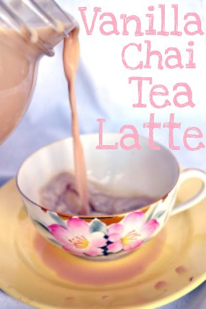 Homemade Vanilla Chai Tea Latte Recipe