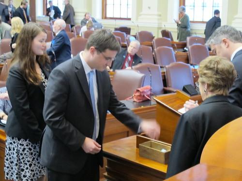 House members vote
