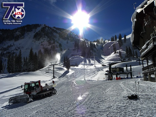 Alta ready to open