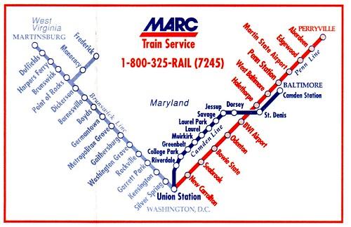 MARC Routes