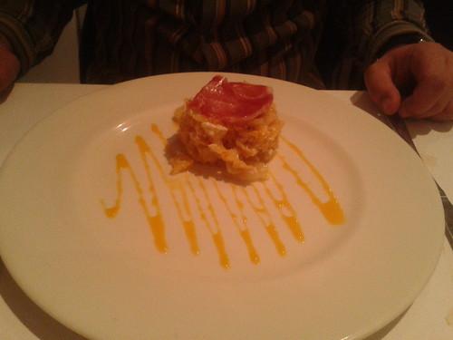 Zaragoza | Restaurante La Scala | Huevos rotos con jamón